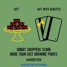 Shop Smart and Save by using gift cards!  Give them as gift and use them to pay for gifts!