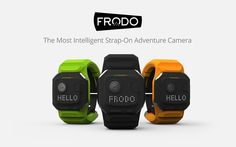 Do more adventure, less editing with Frodo - The Most Intelligent Adventure Camera that edit videos for you. Now on Indiegogo!