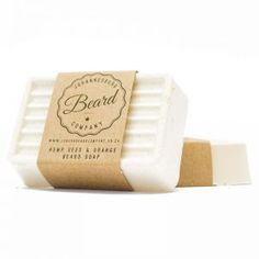 Hemp Seed, Honeybush and Orange Natural Clay and Coconut Oil Beard Soap