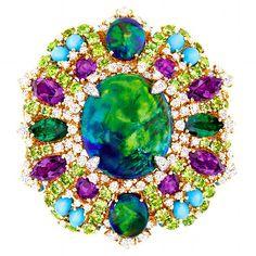 Dior precious stone jewelry