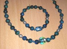 #Schmuck, #Kette, #Armband, #Perlen, #Glas, #Chrysokoll, #blau, #petrol, #türkis, #grün, #silber jewellery, joyas, bijoux, ювелирные изделия, biżuteria, gioielli, juwelen, koruja, smykker, 珠寶,bracelet, pulsera, браслет, bransoletka, bracciale, rannekoru, armbånd, 手鐲,pearls, perlas, perles, жемчуг, perły, perle, parels, helmet, perler, 珍珠,necklace, collar, collier,  ожерелье, naszyjnik, collana, ketting, kaulakoru, halskæde, 項鍊,