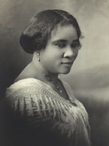 Madam C. J. Walker, She was the first African-American woman millionaire.