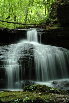 Bamawester Falls, Cullman, Alabama
