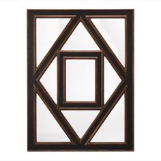Find it at bombaycompany.com  - Roberts Mirror - Antique Black & Gold