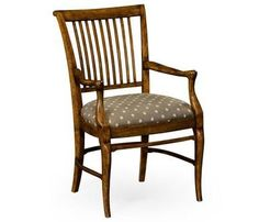 Dining Arm Chair JONATHAN CHARLES WILLIAM YEOWARD Gray Fruitwood Acacia JC-2421