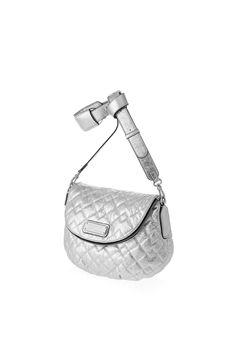 New Q Quilted Metallic Natasha Bag | Static Multimedia > Gallery