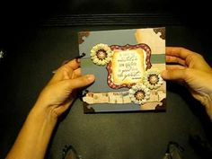 Nostalgia Envelope Mini Scrapbook with Flip-Flop Insert - Part 1