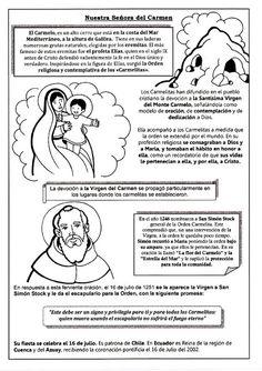 El Rincón de las Melli: Advocaciones: Nuestra Sra. del Carmen