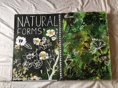 Natural forms title page