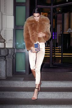 Kendall Jenner Milan FW style