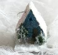 putz style gingerbread houses - Google Search