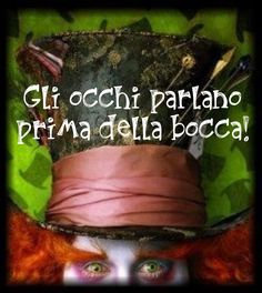 Italian Love Quotes, Wanderland, Paper Jewelry, Johnny Depp, Alice In Wonderland, Heartbeat, Bordeaux, Raven, Frases