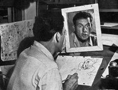 Vintage Photos From The Golden Age MGM Cartoon Studio - Neatorama