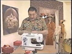 Puntos y Puntadas 60. Técnicas de costura. Uso del ruloté. Hermenegildo Zampar. Sewing Basics, Learn To Sew, Patches, Crochet, Fabric, Youtube, Pattern, Diy, Google