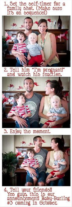 I need to do this one day (in like ten years)...but for the first baby :) kevs reaction will be too funny to not have documented.