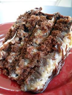 german chocolate cake made this on thursday and was the best I have ever tasted.