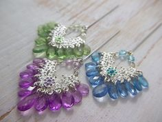 Hijab Pins  Chandelier  Muslimah Fashion  by PearlAmourJewels
