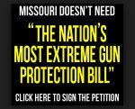 """With a 109-49 count, the Missouri House voted to change Missouri's motto to the """"Shoot Me State."""" In essence, the highly conservative Missouri State House and Senate override Democrat Governor Jay Nixon's veto of the legislation.  The latest Missouri measure would declare invalid any federal policies that """"infringe on the people's right to keep and bear arms.""""  This level of ignorance appears to have a purpose.  But in the end it leads to more suffering."""