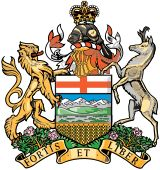 File:Alberta coat of arms. Canadian Things, I Am Canadian, Canadian Rockies, O Canada, Alberta Canada, Calgary, Western Canada, Places Of Interest, Stirling