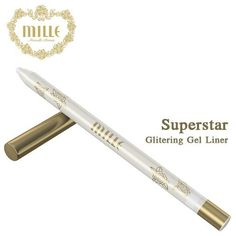 The Magic of Sparkling Glitter !!! The Best Eye Liners Superstar Glittering Gel Liner Long Lasting Rotating, Waterproof...(white) -- Details can be found by clicking on the image. (This is an affiliate link and I receive a commission for the sales) #Eyeliner