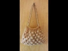 #Crochet Bobble Stitch Handbag Purse #TUTORIAL - YouTube
