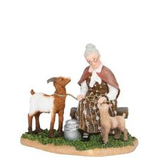 Luville Henriette and her goats 601529