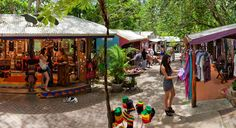12 best markets in Cairns Tropical North Queensland.  Kuranda features in the list, get there with Skyrail Rainforest Cableway. #skyrail #rainforest #cairns #kuranda #markets #exploretnq #thisisqueensland #seeaustralia