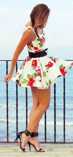 Rose Swing Dress <3 L.O.V.E.