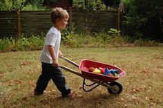 Gross Motor Activities: Wheelbarrow Relay