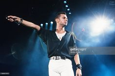 Depeche Mode David Gahan live at Nippon Budokan, Tokyo, September 11, 1990.