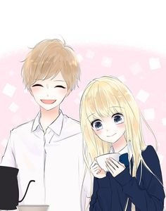 Proving you don't need words to express pure love, joy and hope, Choco Latte is for those who believe less is more and silence can be golden. Anime Couples Manga, Manga Anime, Anime Romans, Romantic Manga, Webtoon Comics, Anime Love Couple, Anime Eyes, Manhwa Manga, Kawaii Anime