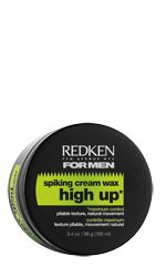 Redken high up spiking cream wax: Cream Wax for maximum staying power and upright styles