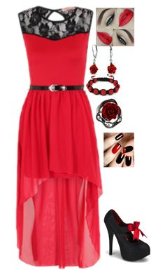 """That's My Kinda Night"" by dragongirl145 ❤ liked on Polyvore featuring Shamballa Jewels and Bling Jewelry"