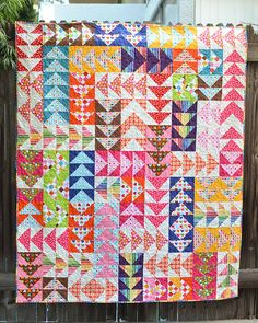 Remixed Geese Free Pattern - Kitchen Table Quilting