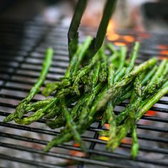 Grilling with Live Fire: Prosciutto Wrapped Asparagus with Lemony Bread Crumbs