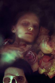 Elizaveta Porodina — photography - Elizaveta Porodina is a photographer based in Munich. She specializes in fashion and editorial photography. Hades And Persephone, Dark Gothic, Chiaroscuro, Memento Mori, Dark Beauty, Dark Art, Storyboard, Creepy, Scary