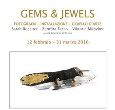 GEMS&JEWELS - Torino, mostra Gems and Jewels: in vetrina i gioielli di Viktoria Muenzker - 12 fevr-31 mars 2016