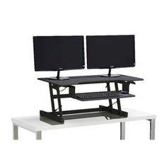 The height adjustable sit stand desks: . Sit Stand Desk, Furniture Sale, Drafting Desk, Large Black, In The Heights, Home Office, Shelves, Desks, Delivery