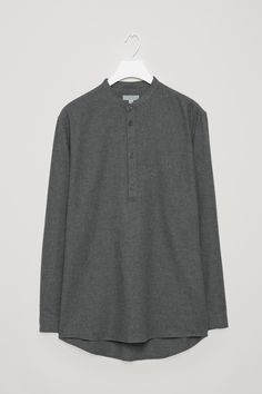COS | Flannel tunic shirt