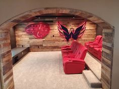 Man Cave Hockey Room : Bardown these jaw dropping man caves will make you wish had