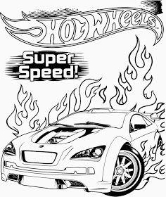 Hot Wheels Coloring Pages 82 Carros Para Colorear Colorear