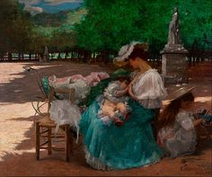 Maternidad  Óleo sobre lienzo Autor: Eliseu Visconti (1866 - 1944)  Fecha: 1906