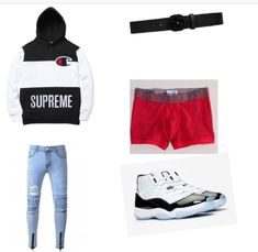 Swag Outfits Men, Tomboy Outfits, Dope Outfits, Trendy Outfits, Fashion Outfits, Teen Guy Fashion, Tomboy Fashion, Mens Fashion, Hype Clothing