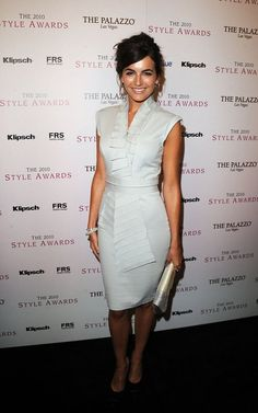 Camilla Belle ~ tailored light blue dress