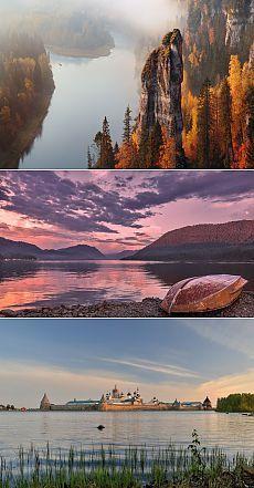 Красоты России (самые красивые  природы)