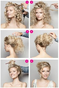 DIY Pretty Romantic Updo Hairstyle