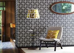 The Design Chaser: Orla Kiely Wallpapers