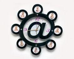 Çerçeveli E-Mail Saat cm 01245 Unique Wall Clocks, Diy Clock, Wall Decor, Handmade, Home Decor, Wall Hanging Decor, Craft, Interior Design, Home Interior Design