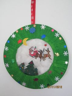 Kerst raamhanger