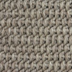 Tbs Tunisian Bar Stitch from My Tunisian Crochet: Basic Stitches